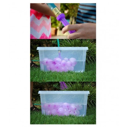 111pcs (1pkt) Water Balloons  Self Sealing Water Balloon For Outdoor Play