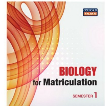 Chemistry, Biology , Physics and Mathematics for Matriculation Semester 1 Fifth Edition Updated