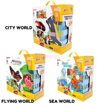 CLEARENCE STOCK  INTERACTIVE PUZZLE MAT ( SEA, FLYING CITY )